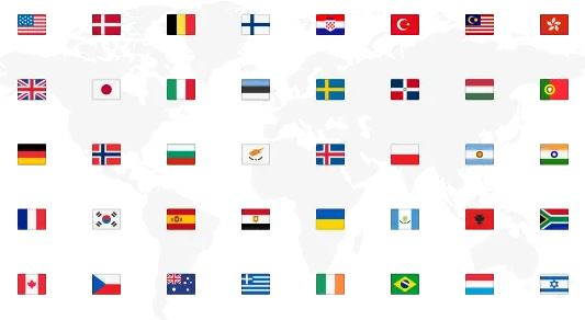 NordVPN服务器所在国家