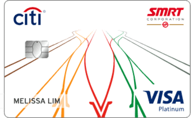 New Citibank SMRT Platinum Visa Credit Card