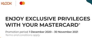 Klook Mastercard Promotion