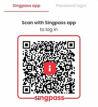申请新加坡美国运通信用卡第四步singpass
