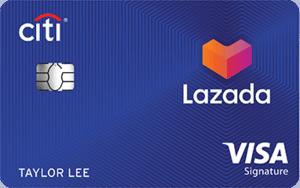 新加坡花旗银行Lazada信用卡