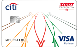 新加坡花旗银行SMRT信用卡
