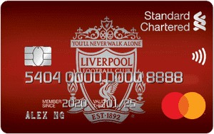 马来西亚渣打银行Liverpool FC Cashback信用卡