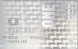 大华银行UOB One信用卡
