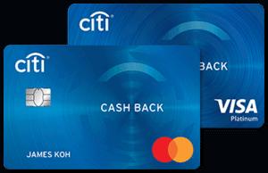 马来西亚花旗银行Cash Back信用卡