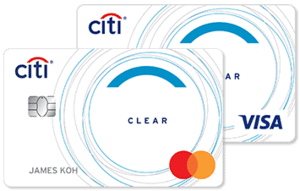 马来西亚花旗银行Clear信用卡