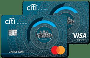 马来西亚花旗银行Rewards信用卡