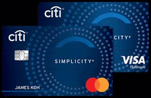 马来西亚花旗银行Simplicity+信用卡