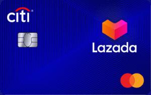 马来西亚花旗银行Lazada信用卡