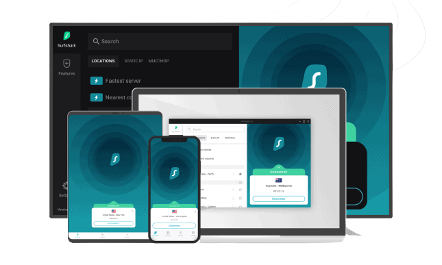 Surfshark VPN all devices